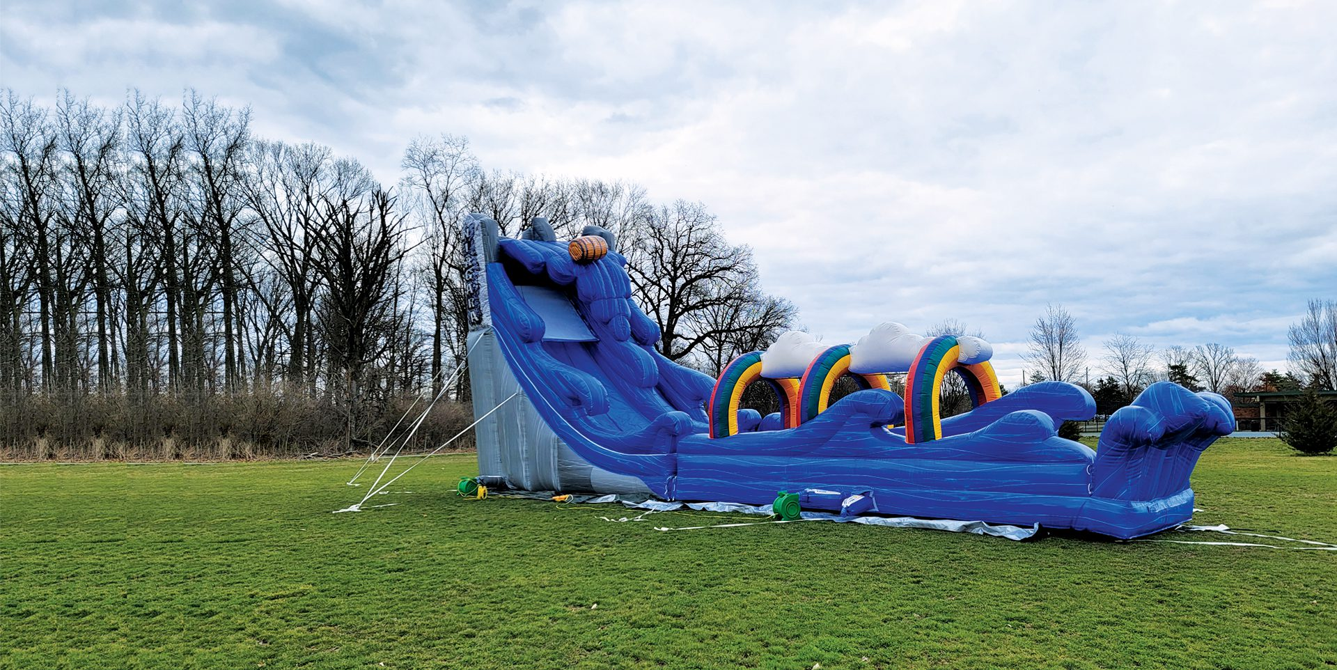 Basic bounce house rental from Indy Bounce
